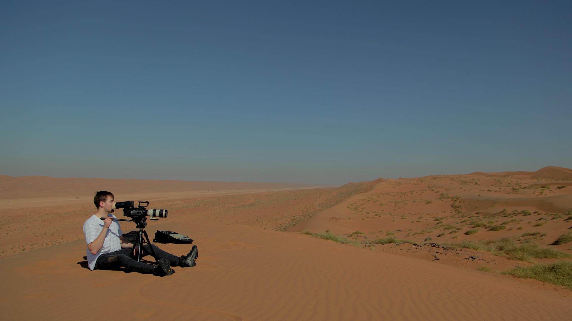 Filming Landscapes in the Omani Desert
