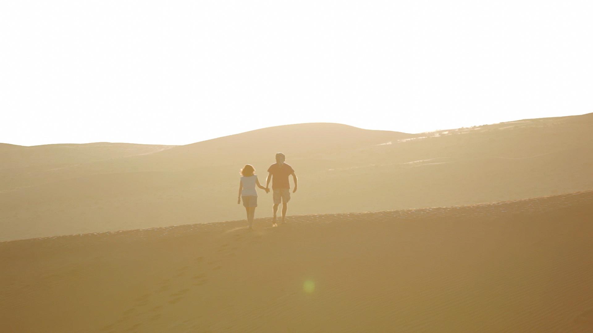 Oman Desert before sunset